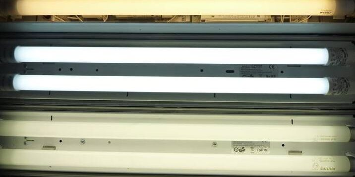LED Heavy Duty tube light for Marine and Offshore front