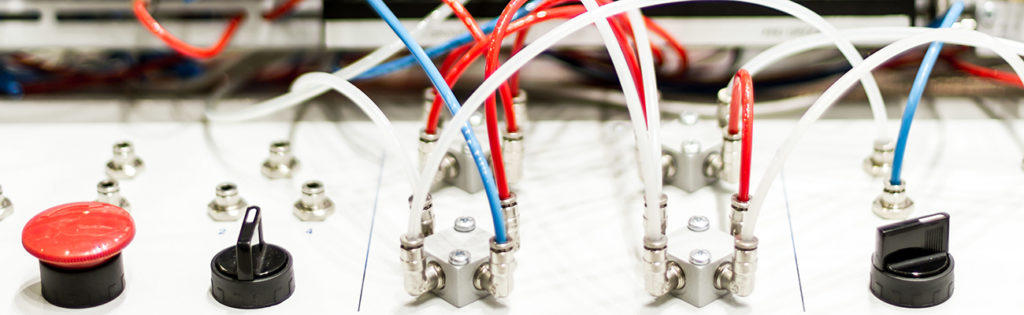 Modern and hi-tech microcontrollers for pneumatic pistons